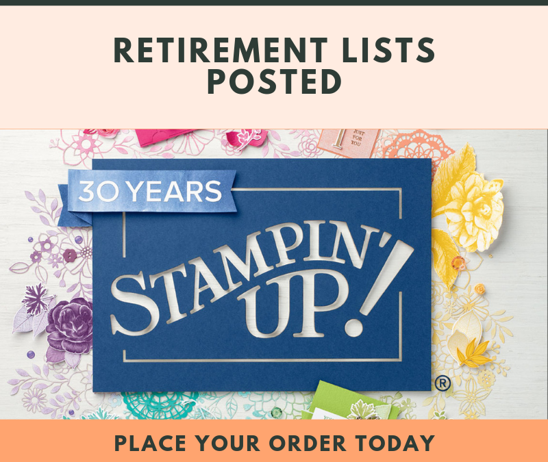 Retirement Lists Released