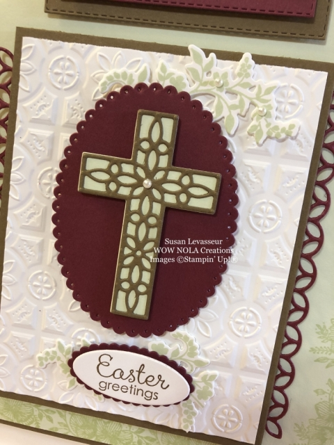 Susan Levasseur, WOW NOLA Creations, Easter Gift Bag, Hold on to Hope, Stampin' Up!