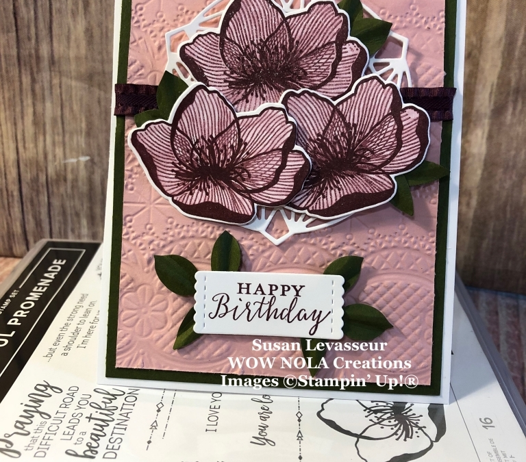 Beautiful Promenade Birthday Card