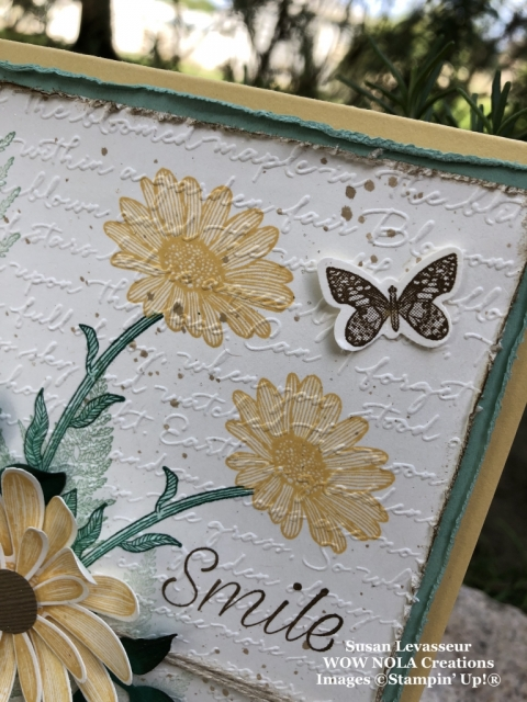 Vintage Daisy Lane, Stampin' Up!, Susan Levasseur, WOW NOLA Creations