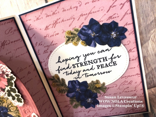 Vintage Pressed Petals, Susan Levasseur, WOW NOLA Creations, Stampin' Up!