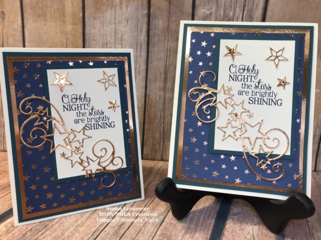 So Many Stars, Holiday 2019, Susan Levasseur, WOW NOLA Creations