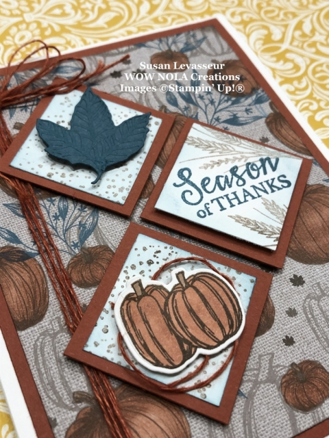 Gather Together, Susan Levasseur, WOW NOLA Creations, Stampin' Up!