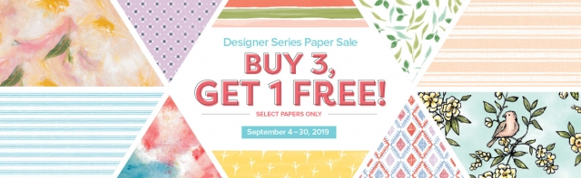 Stampin' Up! Designer Series Paper Sale, Susan Levasseur, WOW NOLA Creations