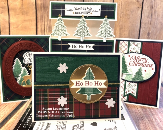 Perfectly Plaid WOW Class to GO!, Susan Levasseur, WOW NOLA Creations, October 2019