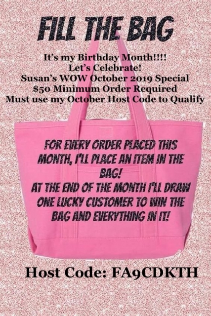 WOW NOLA Creations, Susan Levasseur, October 2019 Ordering Giveaway