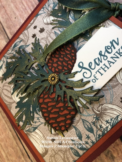 Squash Fold, Susan Levasseur, WOW NOLA Creations, Stampin' Up!