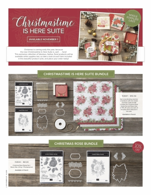 Christmastime is Here Suite, Susan Levasseur, WOW NOLA Creations, Stampin' Up!