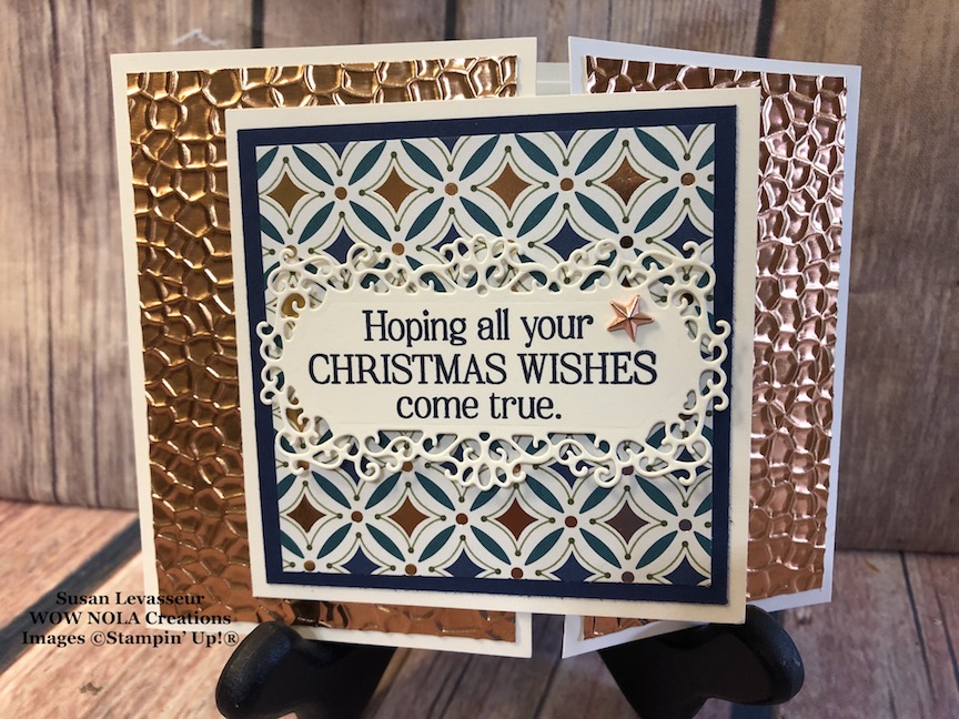 Holiday Gift Card Holder and Greeting Card in One