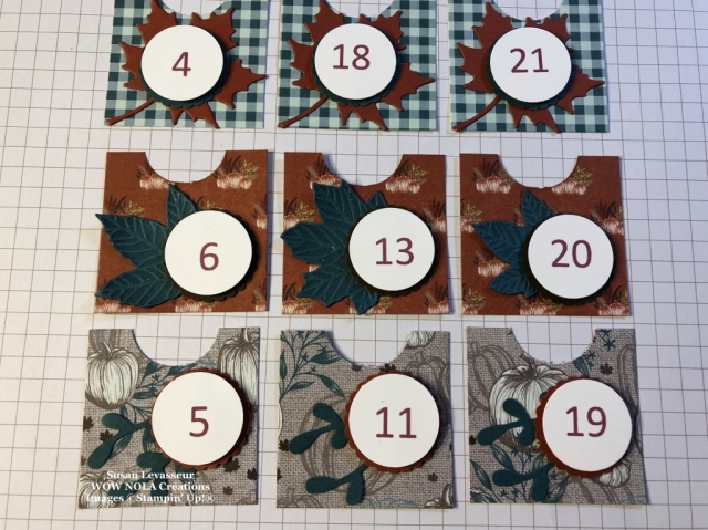 Random Act of Kindness Countdown, Susan Levasseur, WOW NOLA Creations, Stampin' Up!