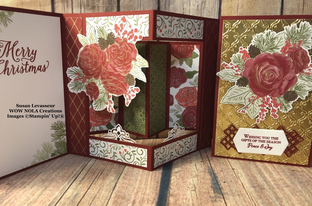 Christmastime is Here Fancy Fold