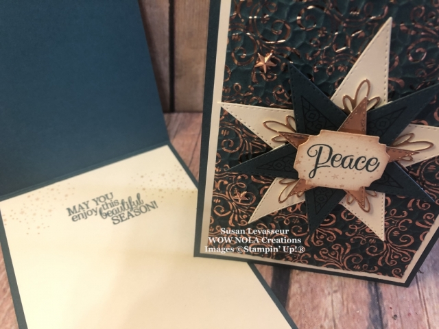So Many Stars, Susan Levasseur, WOW NOLA Creations, Stampin' Up!