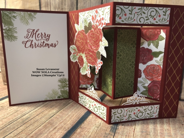 Christmastime is Here, Susan Levasseur, WOW NOLA Creations, Stampin' Up!