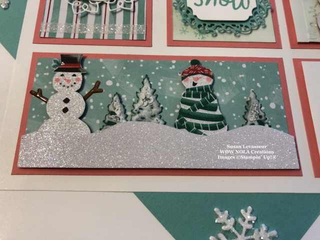 Winter Sampler, Let it Snow, Susan Levasseur, WOW NOLA Creations, Stampin' Up!