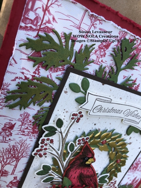 Toile Tidings Gift Set, Susan Levasseur, WOW NOLA Creations, Stampin' Up!
