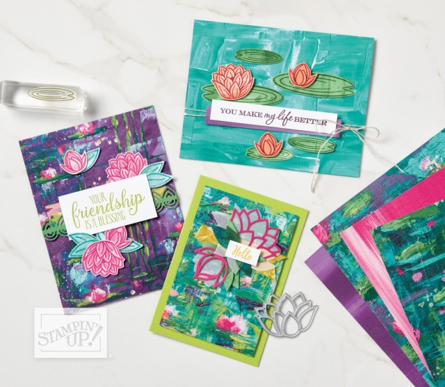 Lily Impressions DSP Ideas, Susan Levasseur, WOW NOLA Creations, Stampin' Up!