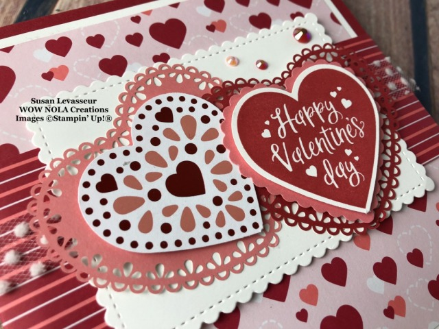 Cake in a Mug Valentine Treat, Susan Levasseur, WOW NOLA Creations, Stampin' Up!