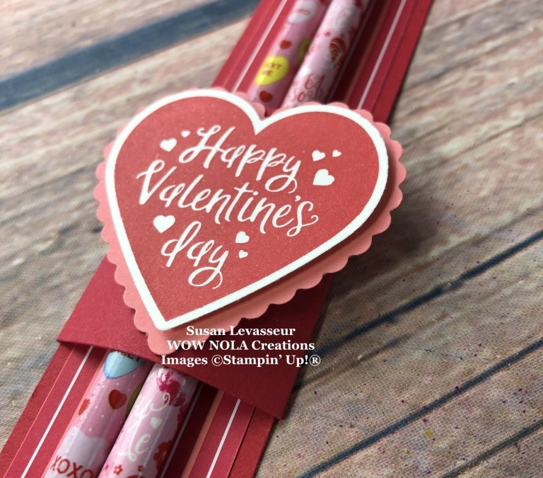 Valentine Pencil Holder