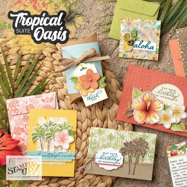 Tropical Oasis Suite, Stampin' Up!
