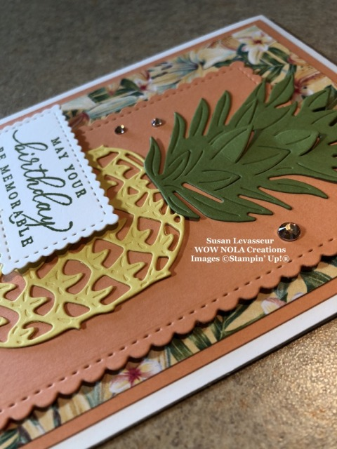 Timeless Tropical Birthday Card