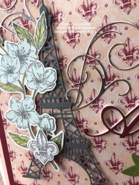 Parisian Gift Bag, Susan Levasseur, WOW NOLA Creations, Stampin' Up!