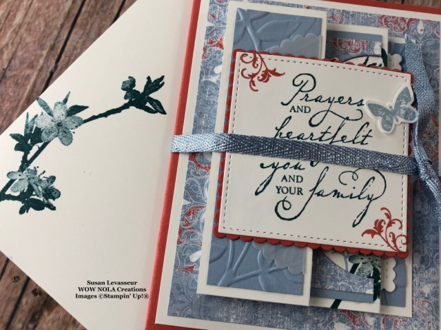 3 in 1 Fancy Fold, Susan Levasseur, WOW NOLA Creations, Stampin' Up!