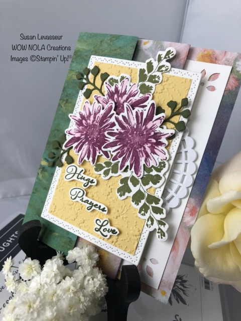 Inside Flap Fun Fold, Susan Levasseur, WOW NOLA Creations, Stampin' Up!