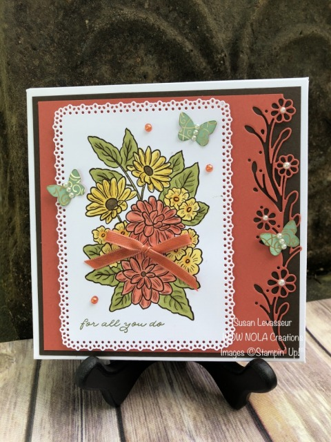 Vintage Step Card & Gift Box, Ornate Garden Suite, Susan Levasseur, WOW NOLA Creations, Stampin' Up!