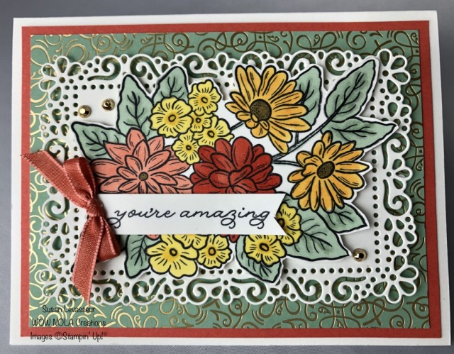 Ornate Garden, Susan Levasseur, WOW NOLA Creations, Stampin' Up!