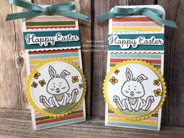 Easter Treats 2020, Susan Levasseur, WOW NOLA Creations, Stampin' Up!