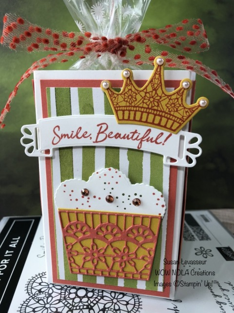 Wish For It All, Birthday Happy, Susan Levasseur, WOW NOLA Creations, Stampin' Up!