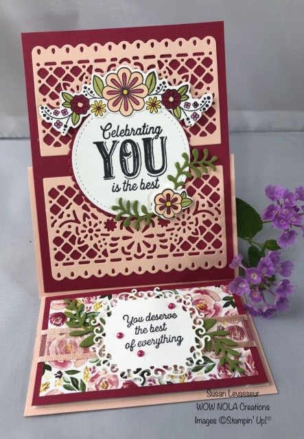 Birthday Jubilee, Susan Levasseur, WOW NOLA Creations, Stampin' Up!