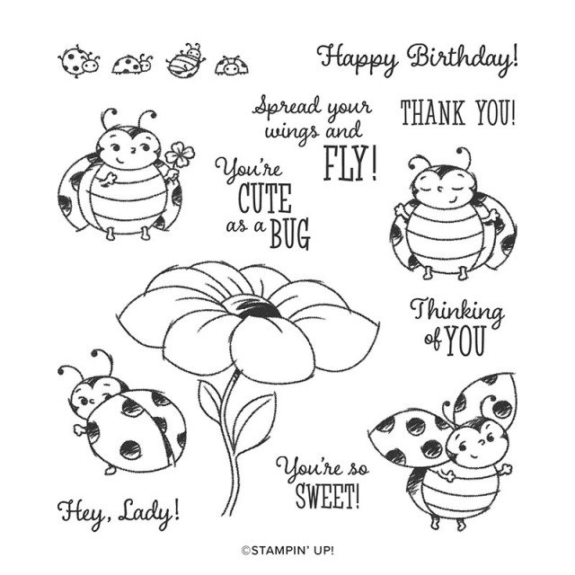 Little Ladybug Stamp Set, Stampin' Up!