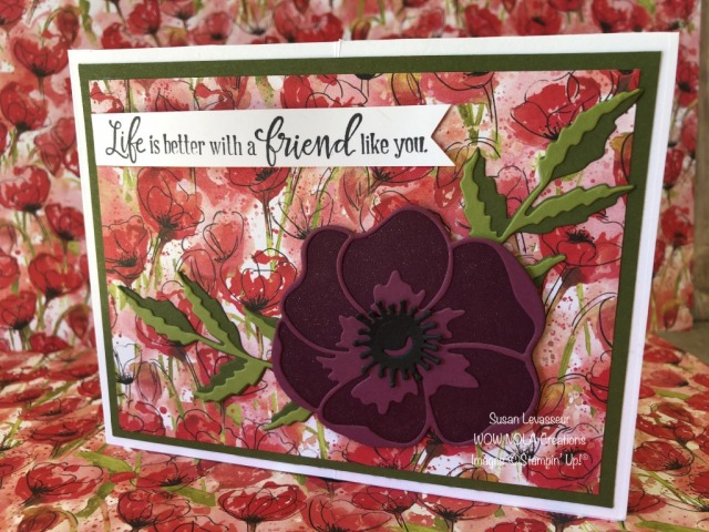 Center Box Poppy Garden, Susan Levasseur, WOW NOLA Creations, Stampin' Up!