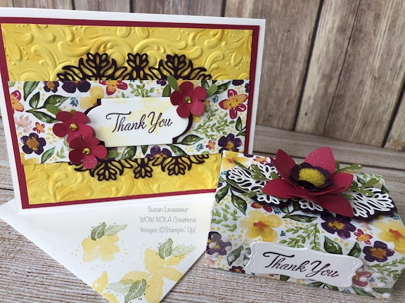 Parcels & Petals Gift Set, Susan Levasseur, WOW NOLA Creations, Stampin' Up!