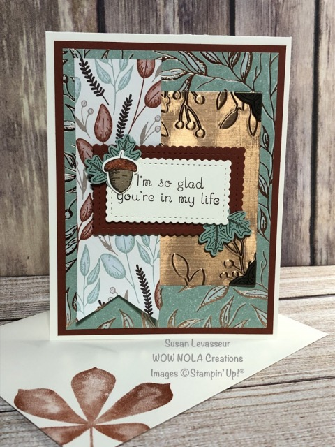 It's Fall Y'all, Beautiful Autumn, Susan Levasseur, WOW NOLA Creations, Stampin' Up!