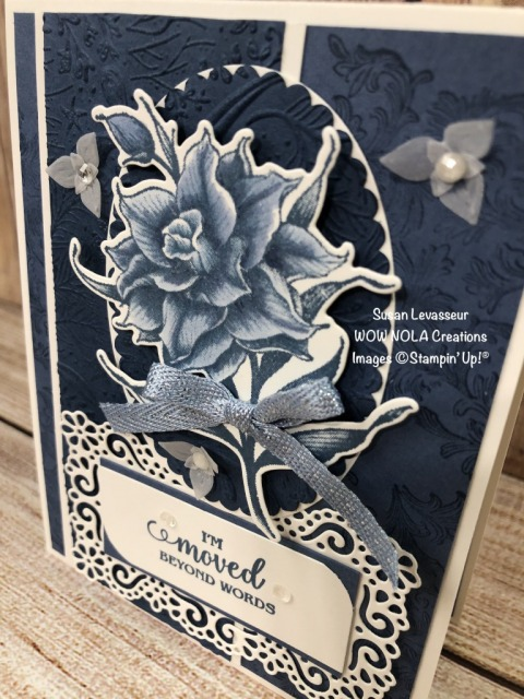 In Colors WOW Team Challenge, Susan Levasseur, WOW NOLA Creations, Stampin' Up!