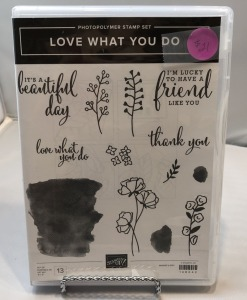 Stamp Set: Love What You Do Stamp Set