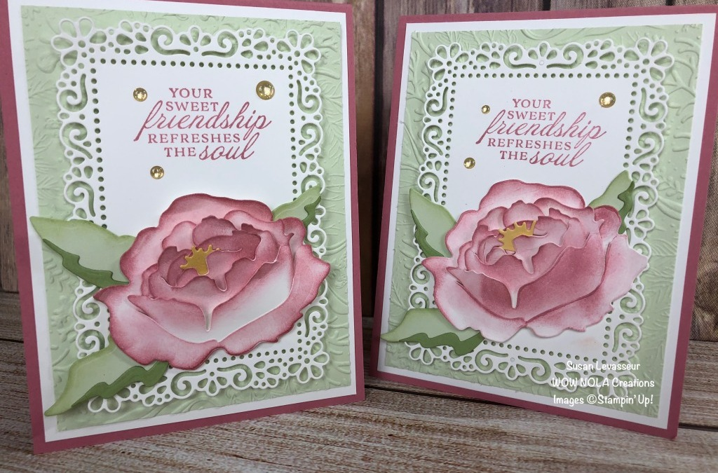 Prized Peony Friendship Card