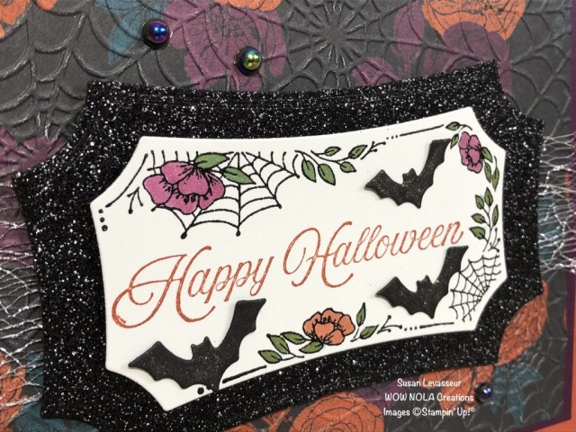 Magic in this Night, Susan Levasseur, WOW NOLA Creations, Stampin' Up!